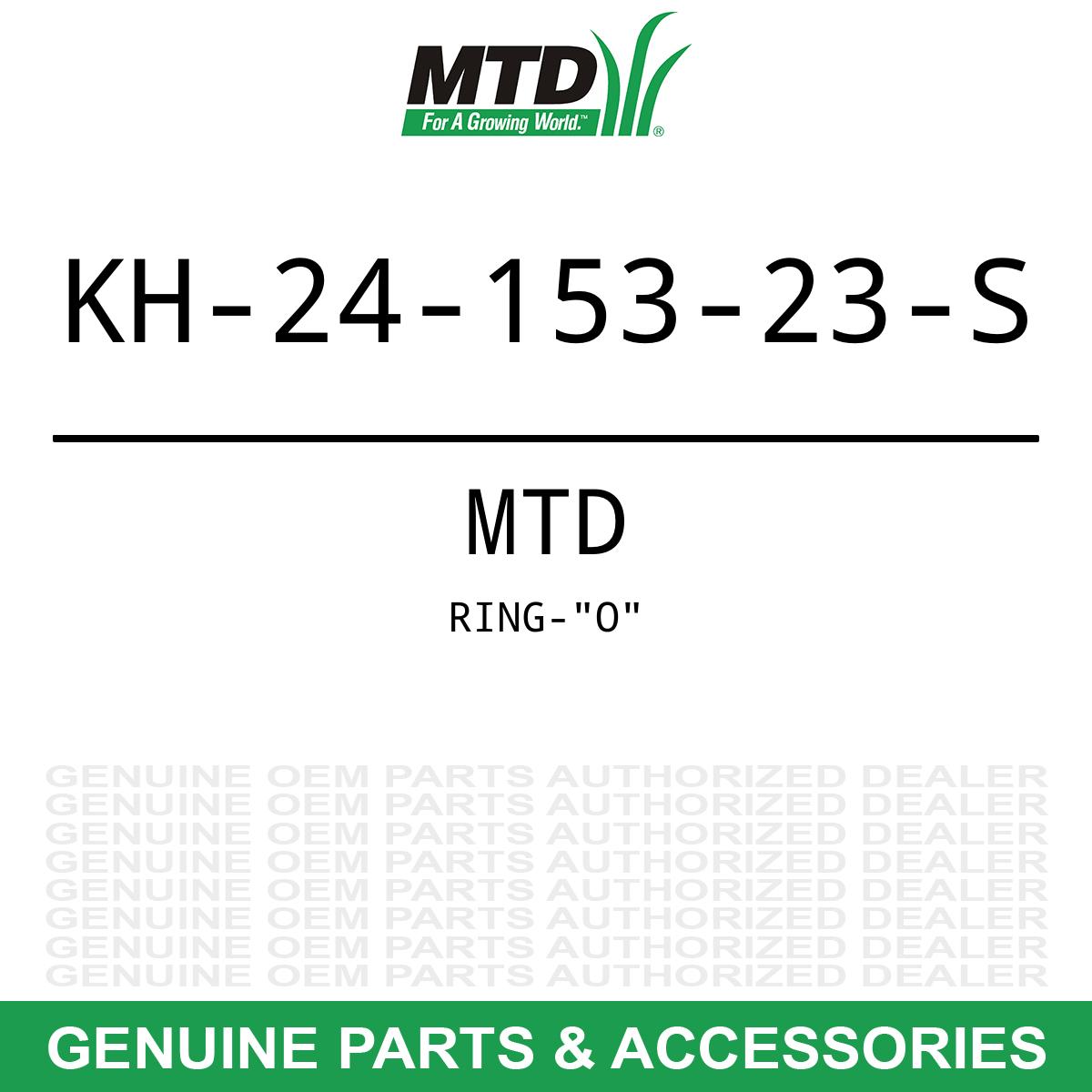 Black O-Ring MTD Cub Cadet Kohler Engines Garden Tractor 1864 2518 3235  5252 OEM